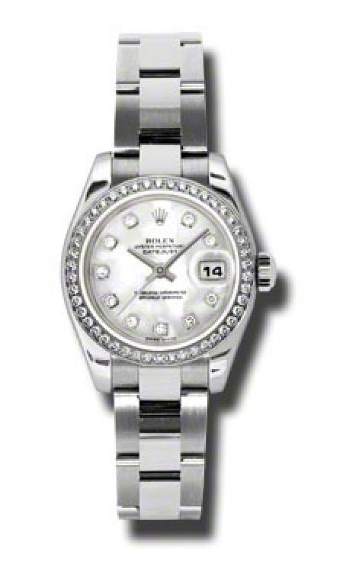 Rolex 179384 mdo Datejust Ladies 26mm Steel and White Gold - фото 4