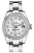 Rolex Datejust Ladies 179384 mdo 26mm Steel and White Gold