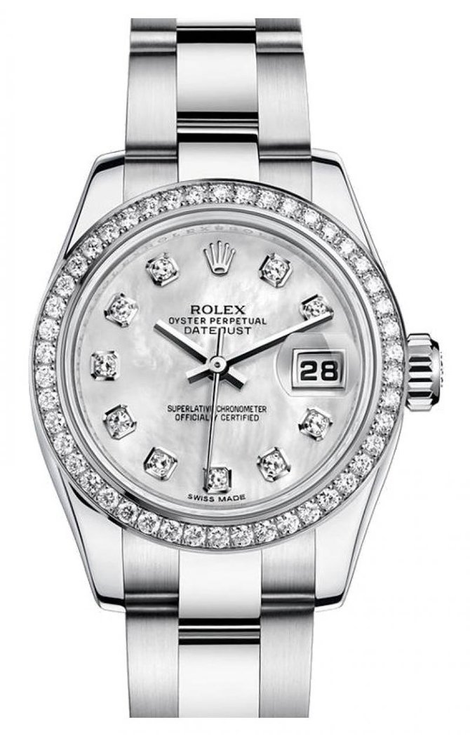 Rolex 179384 mdo Datejust Ladies 26mm Steel and White Gold - фото 1