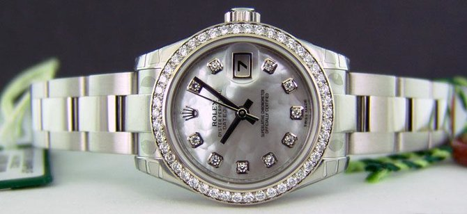 Rolex 179384 mdo Datejust Ladies 26mm Steel and White Gold - фото 3