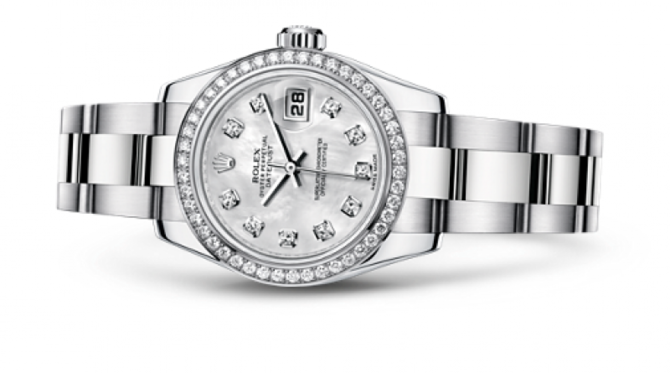 Rolex 179384 mdo Datejust Ladies 26mm Steel and White Gold - фото 2