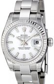 Rolex Datejust Ladies 179174 wso 26mm Steel and White Gold