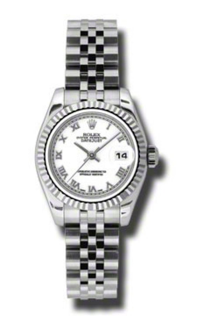 Rolex 179174 wrj Datejust Ladies 26mm Steel and White Gold - фото 2