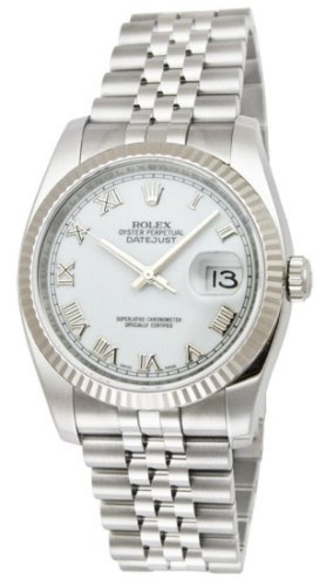 Rolex 179174 wrj Datejust Ladies 26mm Steel and White Gold - фото 3