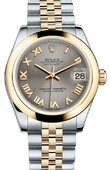 Rolex Datejust 178243 grj 31mm Steel and Yellow Gold