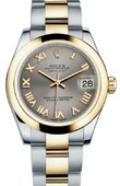 Rolex Datejust 178243 gro 31mm Steel and Yellow Gold