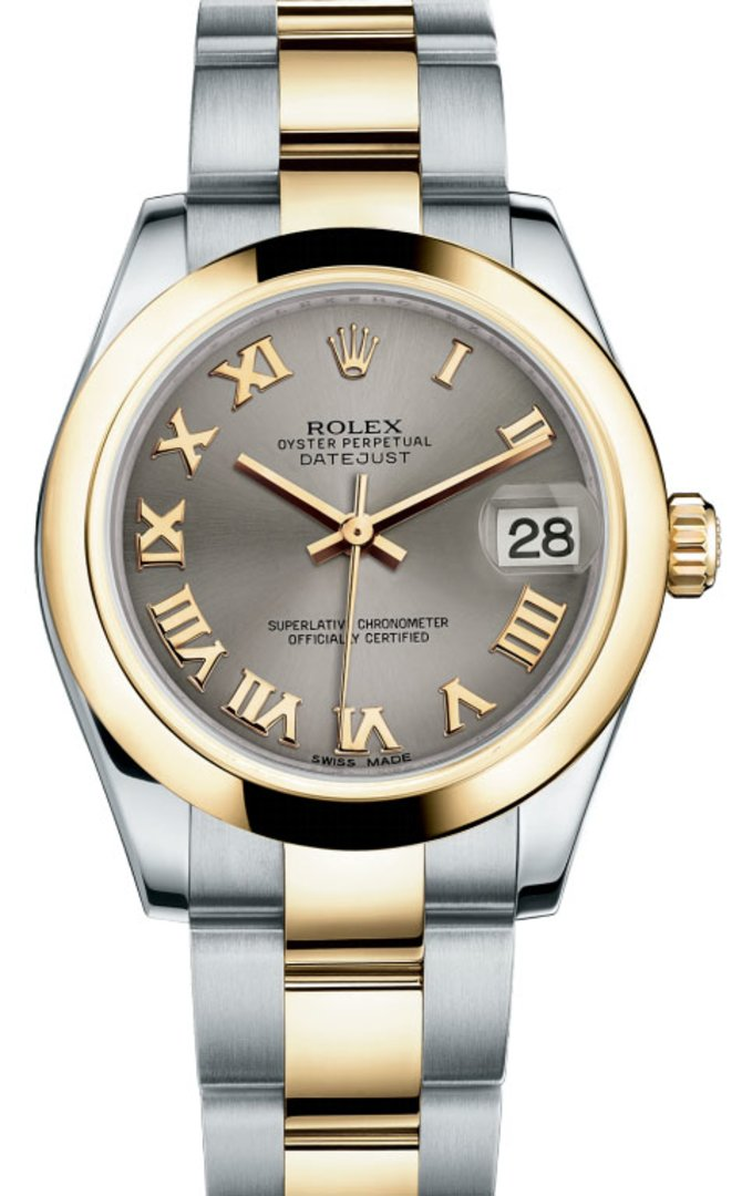 Rolex 178243 gro Datejust 31mm Steel and Yellow Gold