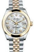 Rolex Datejust 178243 mdj 31mm Steel and Yellow Gold