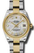 Rolex Datejust 178243 mdo 31mm Steel and Yellow Gold