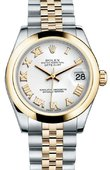 Rolex Datejust 178243 wrj 31mm Steel and Yellow Gold