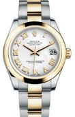 Rolex Datejust 178243 wro 31mm Steel and Yellow Gold