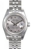 Rolex Datejust Ladies 179174 srj 26mm Steel and White Gold