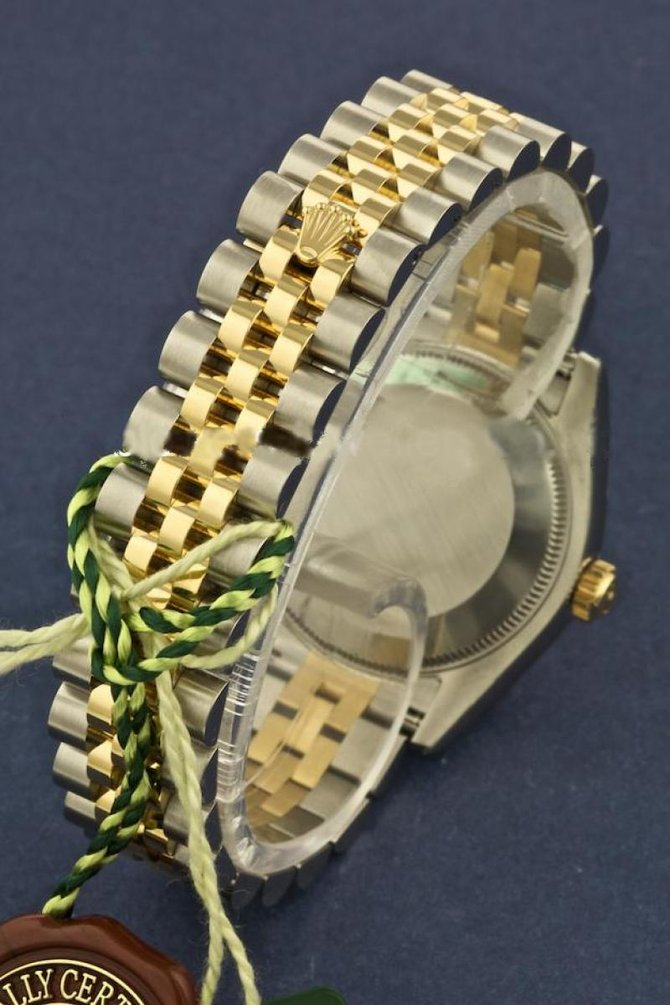 Rolex 178273 blij Datejust 31mm Steel and Yellow Gold - фото 4