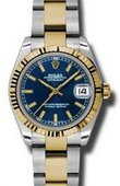 Rolex Datejust 178273 blio 31mm Steel and Yellow Gold