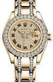 Rolex Datejust Ladies 80298 Pave Pearlmaster
