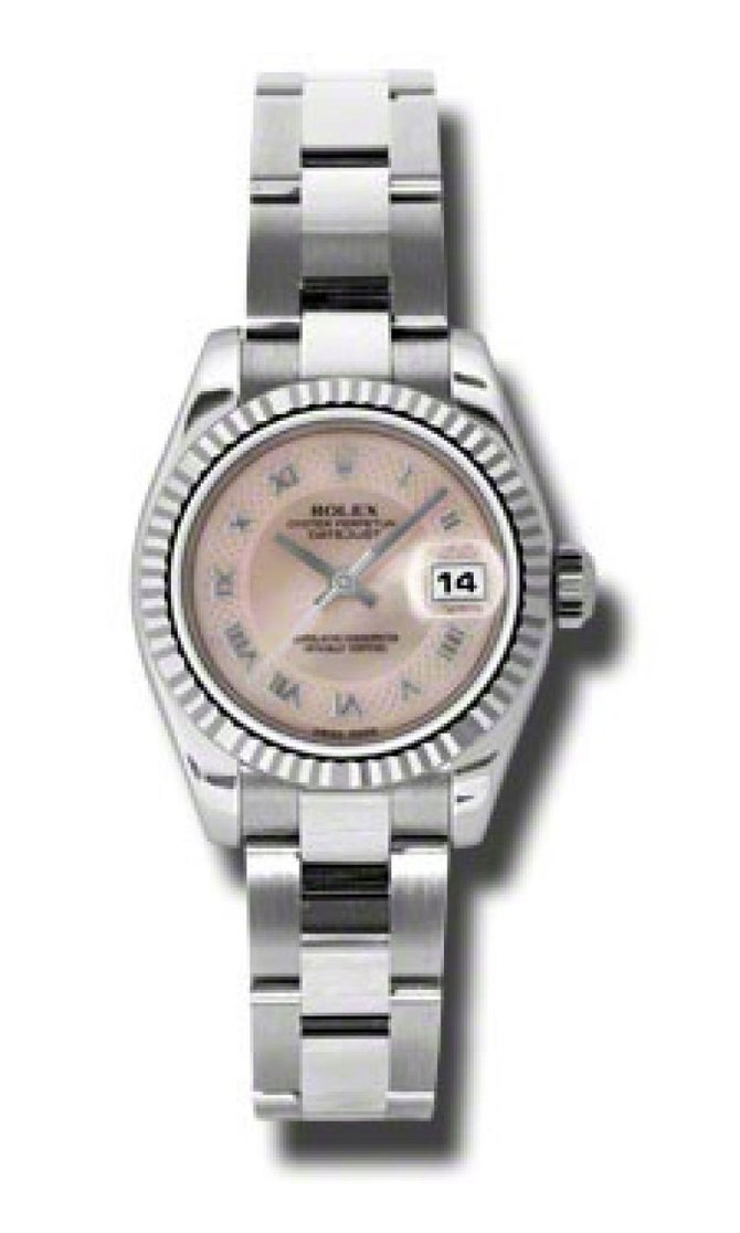 Rolex 179174 mpdro Datejust Ladies 26mm Steel and White Gold - фото 1
