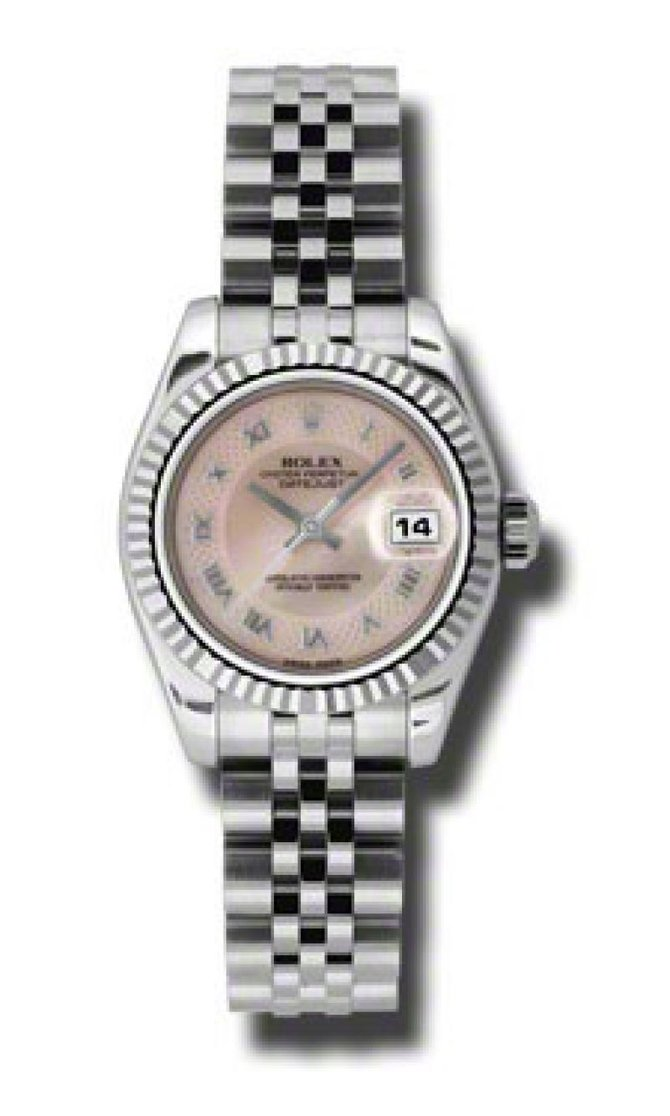 Rolex 179174 mpdrj Datejust Ladies 26mm Steel and White Gold - фото 1