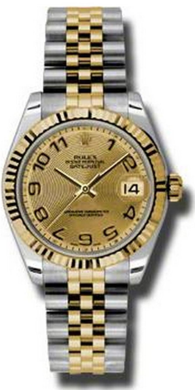 Rolex 178273 chcaj Datejust 31mm Steel and Yellow Gold - фото 1