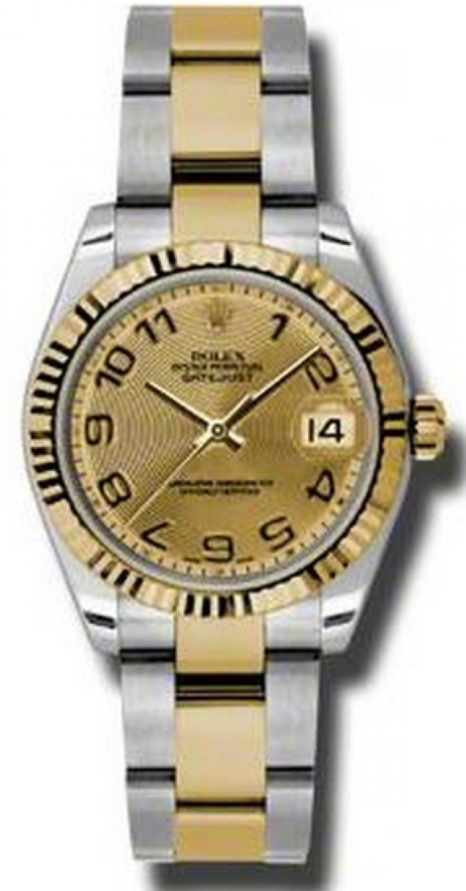 Rolex 178273 chcao Datejust 31mm Steel and Yellow Gold - фото 1