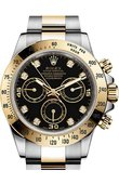 Rolex Daytona 116523 black diamonds Cosmograph