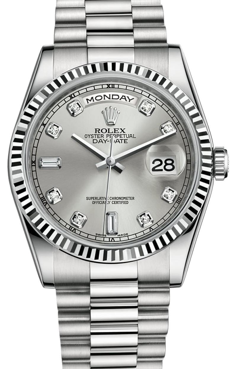 118239-83209 Rolex White Gold Day-Date