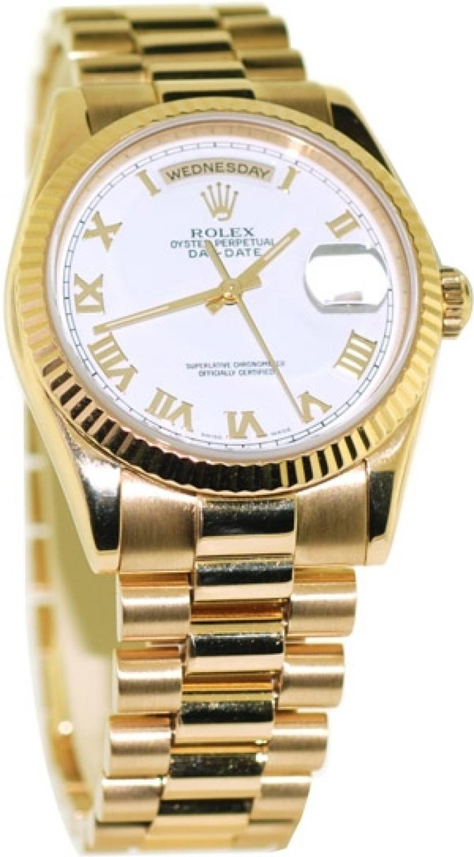 118238-83208 Rolex Yellow Gold Day-Date