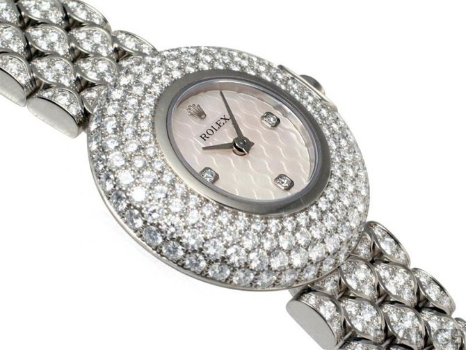 Rolex 6221-9 Cellini Orchid White Gold - фото 4