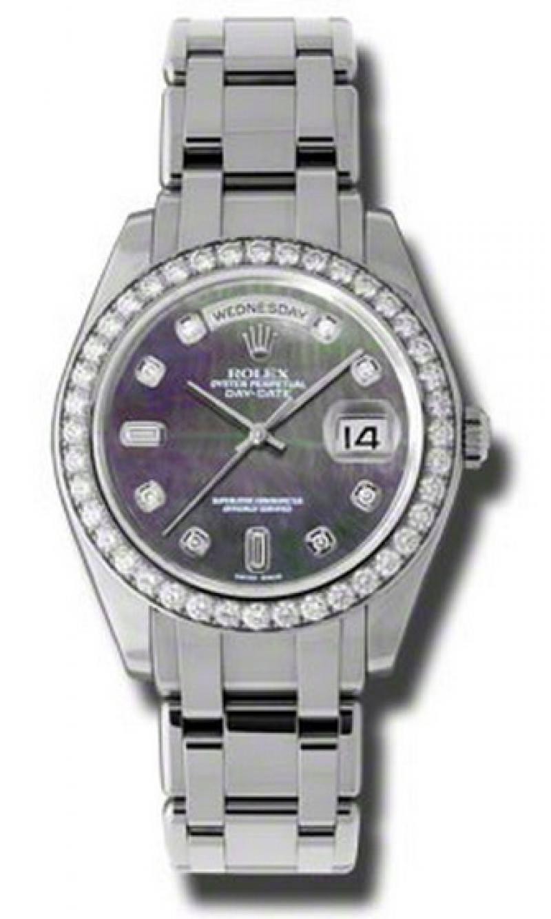 18946 dkmd Rolex Special Edition Platinum Day-Date