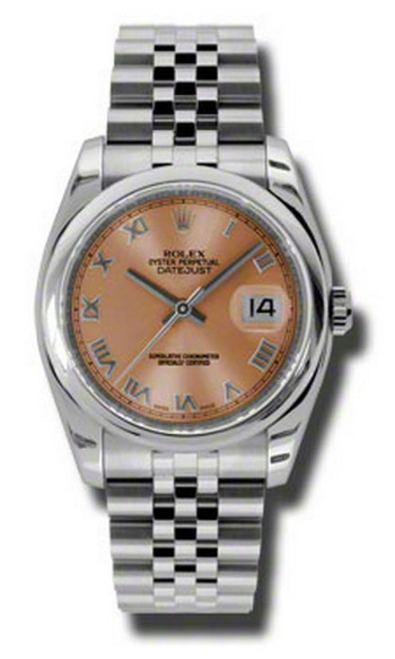 116200 prj Rolex Steel Datejust