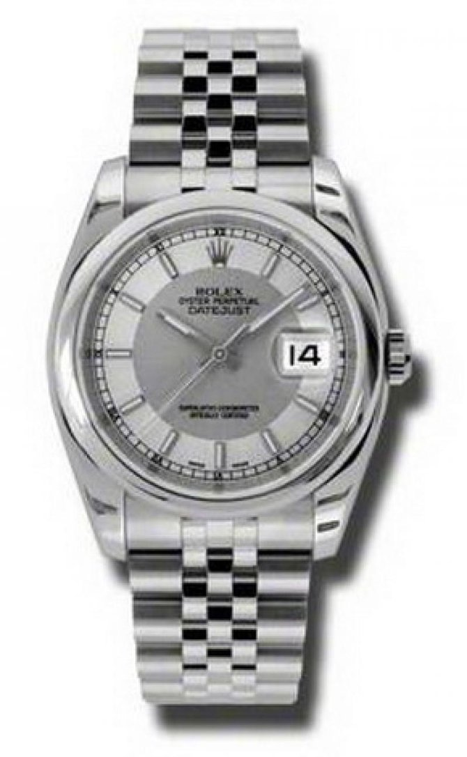 116200 stsisj Rolex Steel Datejust