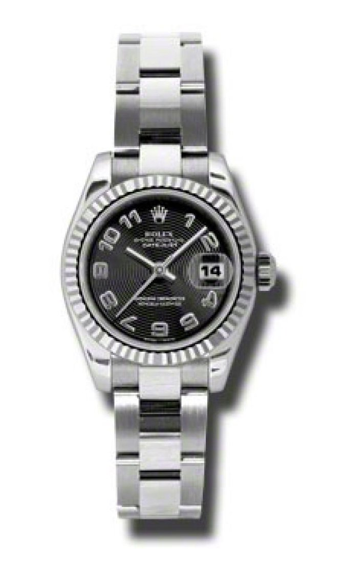 Rolex 179174 bkcao Datejust Ladies 26mm Steel and White Gold - фото 1