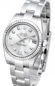 Rolex Datejust Ladies 179174 sdo 26mm Steel and White Gold