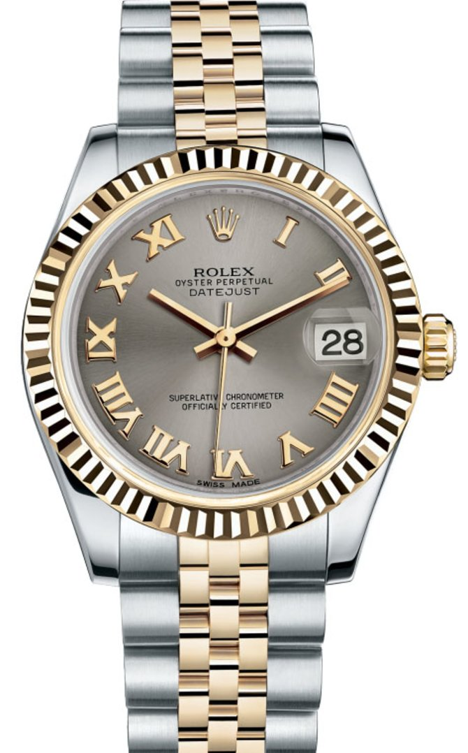Rolex 178273 grj Datejust 31mm Steel and Yellow Gold