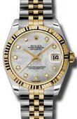 Rolex Datejust 178273 mdj 31mm Steel and Yellow Gold