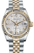 Rolex Datejust 178273 sjdj 31mm Steel and Yellow Gold
