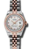 Rolex Datejust Ladies 179171 srj 26mm Steel and Everose Gold