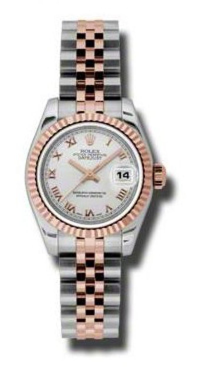 Rolex 179171 srj Datejust Ladies 26mm Steel and Everose Gold - фото 1