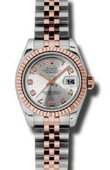 Rolex Datejust Ladies 179171 scaj 26mm Steel and Everose Gold