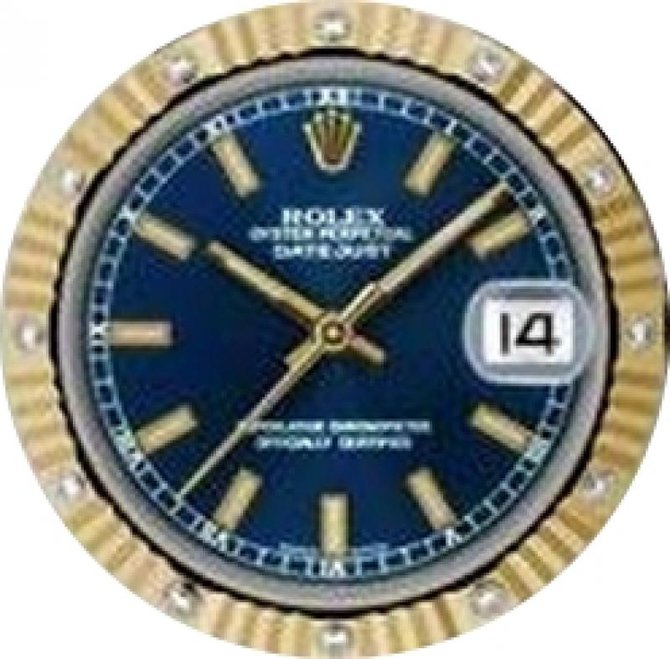 Rolex 178313 blio Datejust 31mm Steel and Yellow Gold - фото 2