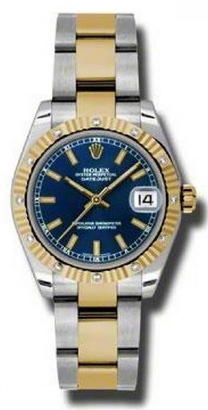Rolex 178313 blio Datejust 31mm Steel and Yellow Gold - фото 1