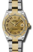 Rolex Datejust 178313 chcao 31mm Steel and Yellow Gold