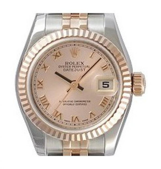 Rolex 179171 pro Datejust Ladies 26mm Steel and Everose Gold - фото 2