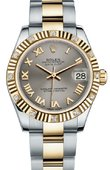 Rolex Datejust 178313 gro 31mm Steel and Yellow Gold