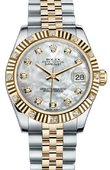 Rolex Datejust 178313 mdj 31mm Steel and Yellow Gold