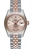 Rolex Datejust Ladies 179171 Pink MOP D 26mm Steel and Everose Gold