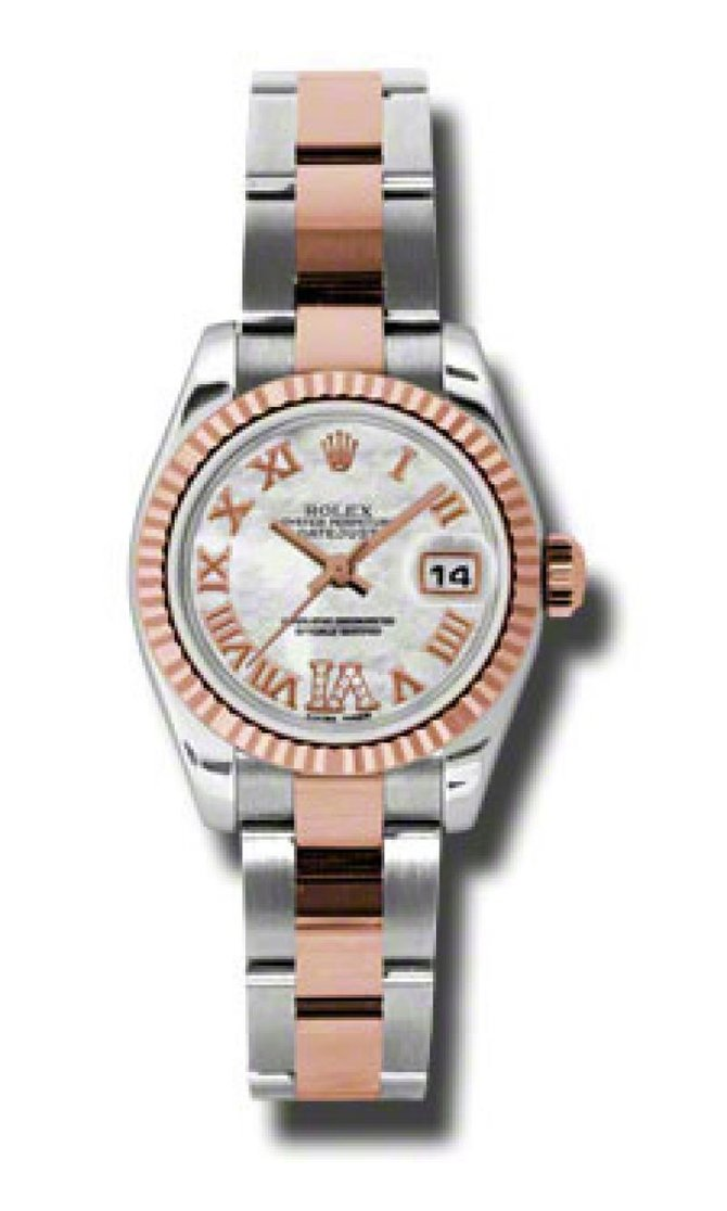Rolex 179171 mdro Datejust Ladies 26mm Steel and Everose Gold - фото 1