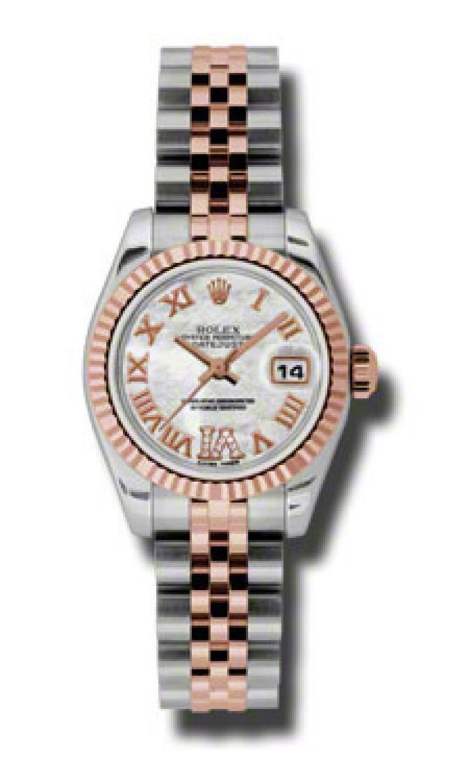 Rolex 179171 mdrj Datejust Ladies 26mm Steel and Everose Gold - фото 1