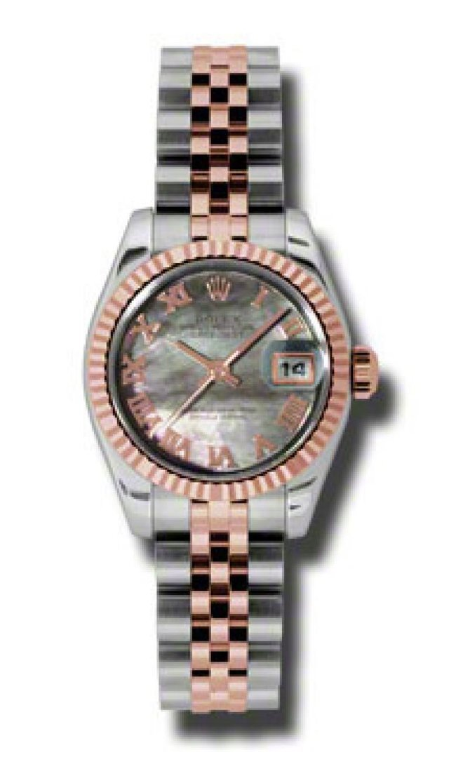 Rolex 179171 dkmrj Datejust Ladies 26mm Steel and Everose Gold - фото 1