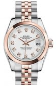 Rolex Datejust Ladies 179161 wdj 26mm Steel and Everose Gold