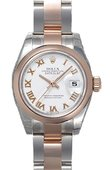 Rolex Datejust Ladies 179161 sro 26mm Steel and Everose Gold
